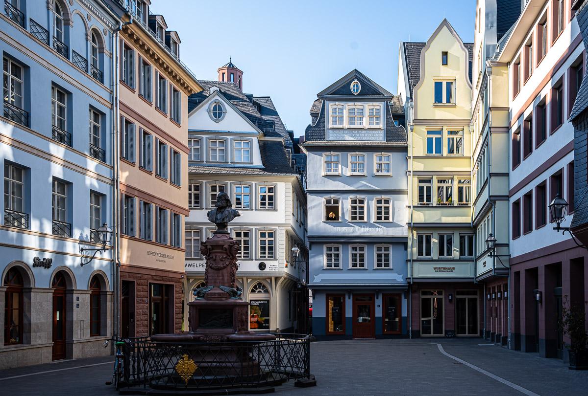 Frankfurt steht still - Ich sehe was, was Du nicht siehst